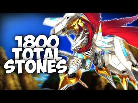 FIRST EVER DIGIMON LINKS SUMMON BATTLE?! 1800 DIGISTONES FOR A +4 JESMON CAPTURE! | Digimon Linkz
