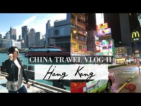 36 HOURS IN HONG KONG | China Travel Vlog II