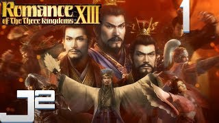 Romance Of The Three Kingdoms 13 Gameplay - Fresh Start - Part 1