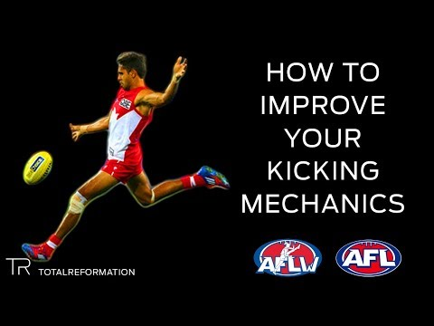 AFL How To Improve Your Kicking Mechanics