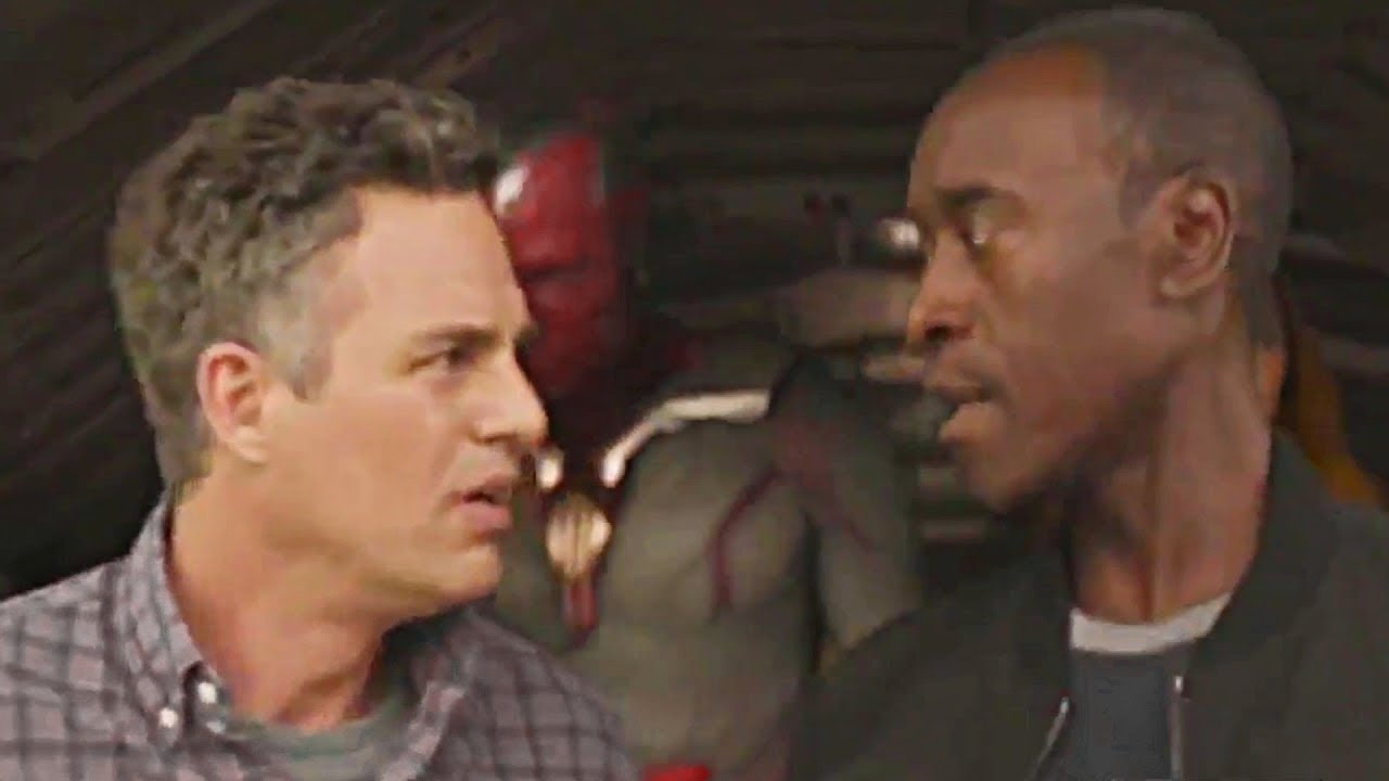 Image result for bruce banner meets t'challa
