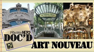 Art Nouveau Buildings And Structures