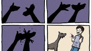 Dark Sense Of Humor Comics (These Are HILARIOUS 🤣)