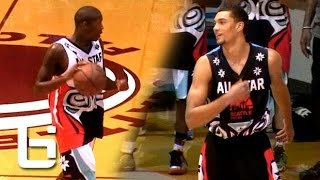 Jamal Crawford vs Zach LaVine & Isaiah Thomas In Seattle Pro Am All-Star Game!
