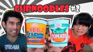 Cup Noodles Sabores Red Seafood E Chili Tomato - Japão Nosso De Cada Dia