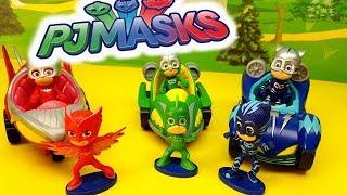 ROMEO FA UNO SCHERZO AI PJ MASKS I SUPER PIGIAMINI - Episodio con bambole , giochi , con personaggi