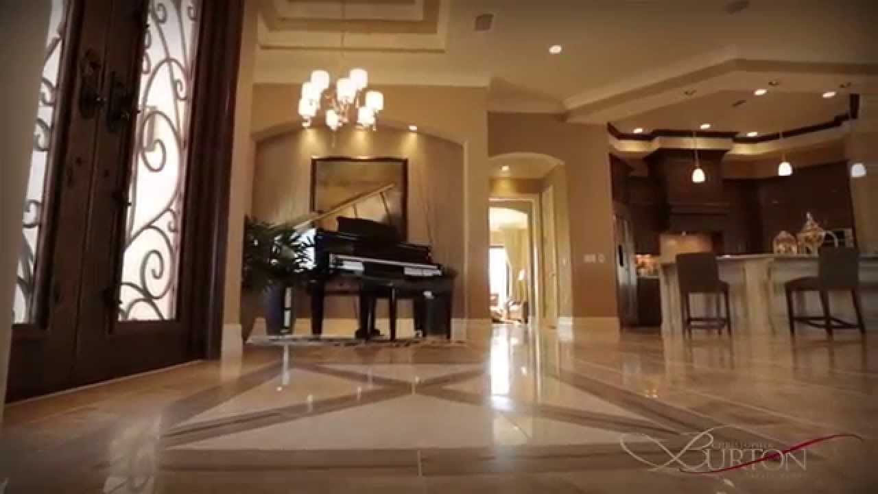 Burton luxury homes virtual model home tour youtube for Luxury home models