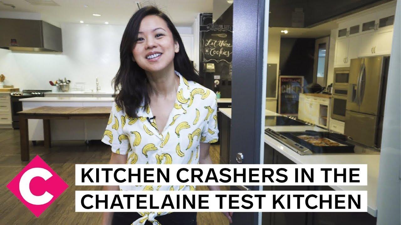 Tour the Chatelaine test kitchen | Kitchen Crashers