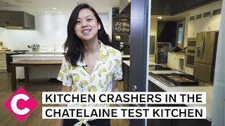 Tour the Chatelaine test kitchen | Kitchen Crashers