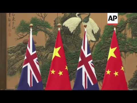 Australian PM hosted by China's Premier