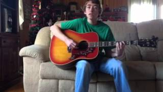 """Whiskey Lullaby"" ""Brad Paisley"" and ""Allison Krauss"" acoustic cover by ""Tyler Skeen"""