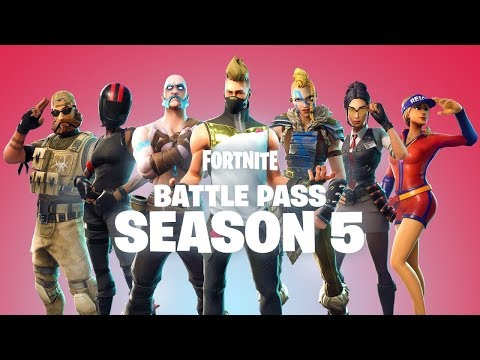 *NEW* SEASON 5 BATTLE PASS THEME & SKINS CONFIRMED! - Fortnite Battle Royale Season 5 LEAKED TEASER!