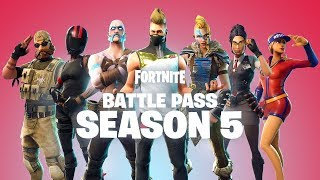 *NEW* SEASON 5 BATTLE PASS INFO! - Fortnite Battle Royale Season 5 LEAKED TEASER!