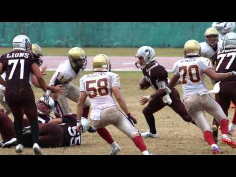 宮崎大学 アメリカンフットボール部 BACCHUS 2016 ~ vs LIONS 2016 11 23