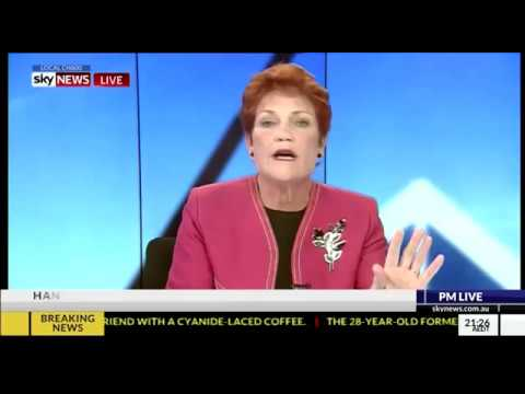 Pauline Hanson speaks with Paul Murray PML about Norfolk Island