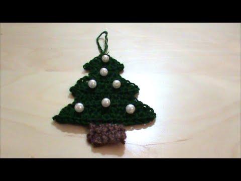 01157cba8830 Πλεκτό Χριστουγεννιάτικο δεντράκι - YouTube