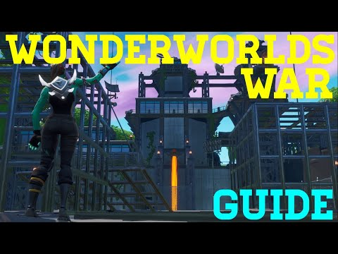How To Complete WonderWorlds War By Okyt - Fortnite Creative Guide