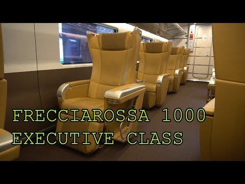 Frecciarossa 1000 Executive Class | Europe's Best Train? | T