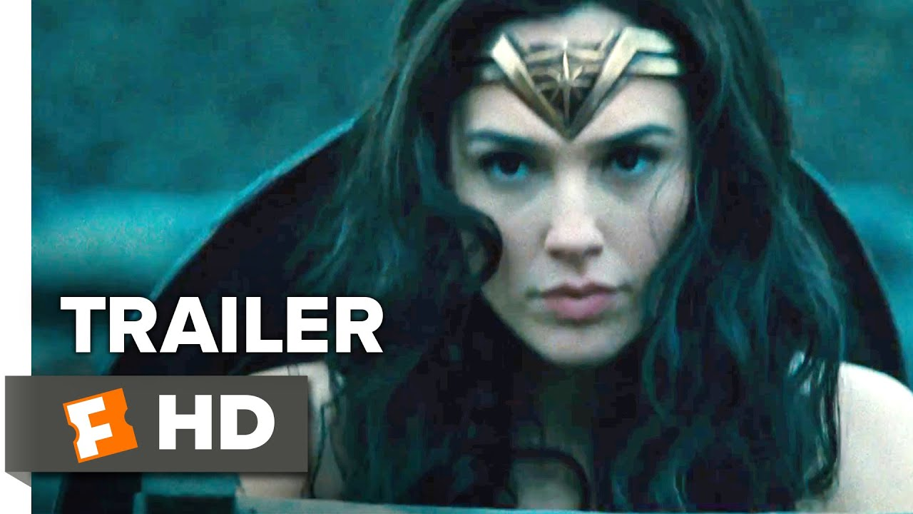 Wonder Woman Official Comic Con Trailer  Gal Gadot Movie Youtube