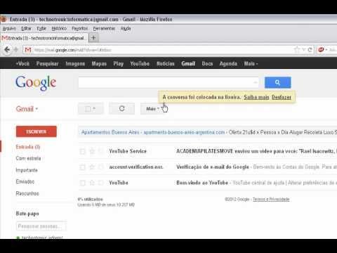 Como acessar o seu gmail