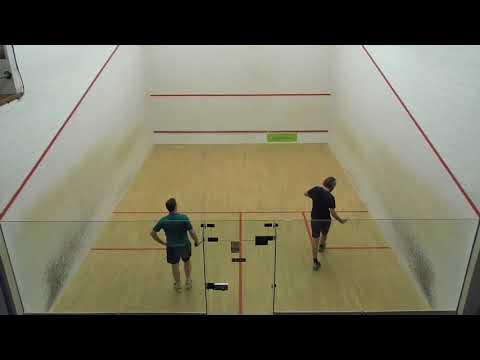 Norfolk squash Closed Champs 2018 Mens A QF Ian Cox v David Gouldby