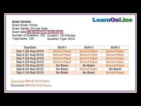 PDF] RRB JE 2015 Solved Paper for All Branches - Engineers
