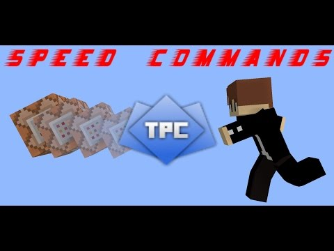 Speed Commands | Auto-planting seeds with TPC - Minecraft