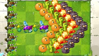 Plants vs Zombies 2 Mod ALL Plants Power UP vs Octo Zombie - PVZ 2 Primal Gameplay