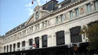 CABOT, Thierry - Un quai de gare à Toulouse.