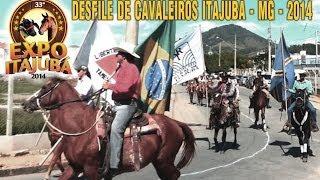 Desfile de Cavaleiros de Itajubá - MG - 2014