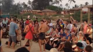 Basho Cafe Arambol Beach, North Goa 2017   Sunset   Live Music   Dance   Drum,