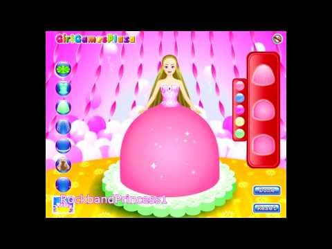 Barbie Cake Game - Barbie Cake Decorating Games