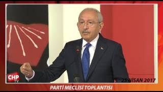 PARTİ MECLİSİ TOPLANTISI 25/04/2017