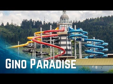 Water Slides at Gino Paradise (GoPro POV)