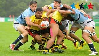Malaysia vs Argentina Men's 7/8/9 - 7th World University Rugby 7 Championship 2016 – Swansea