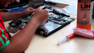 Výměna teplovodivé pasty na notebooku