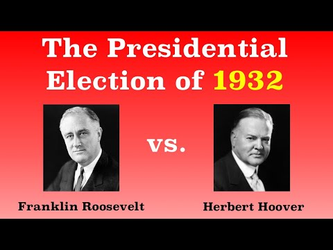 The American Presidential Election of 1932