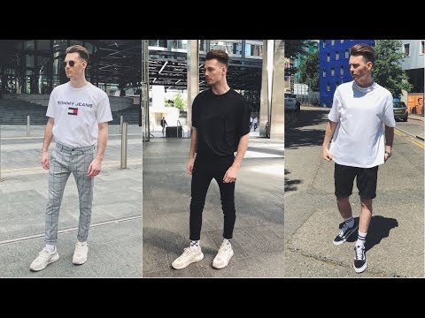 Mens Streetwear Lookbook [NEW Spring/Summer 2018] 4 Outfits For Men