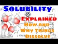 Solubility Explained