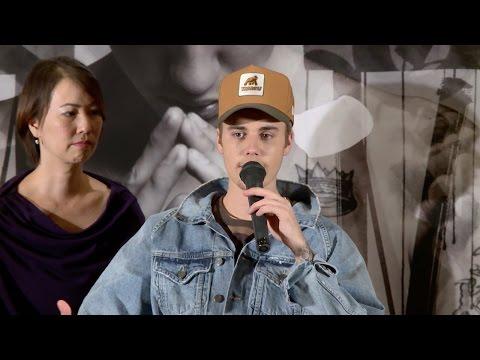 ジャスティン・ビーバー、自分自身を語る「本当は傷つきやすい」  アルバム『パーパス』発売記念合同質問会