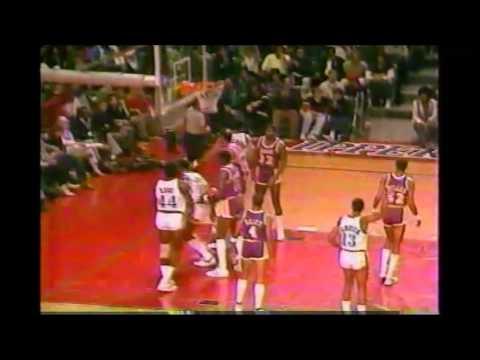 1985 Regular Season LA Lakers@LA Clippers HIGHLIGHTS