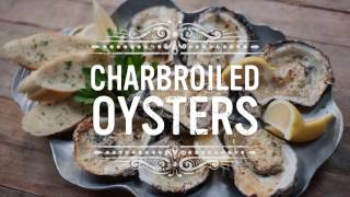 Chargrilled Oysters Recipe