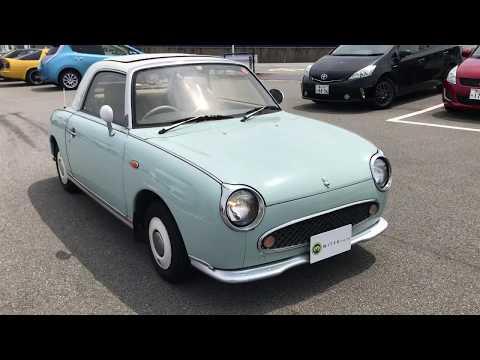 Sold Nissan Figaro   FK10-006681 Japanese Mini Used Car Vehicle Pike Cars,