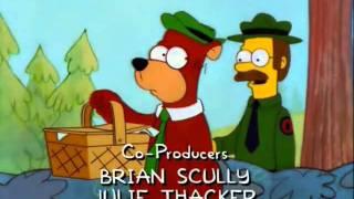 The Simpsons - Yogi Bear Parody