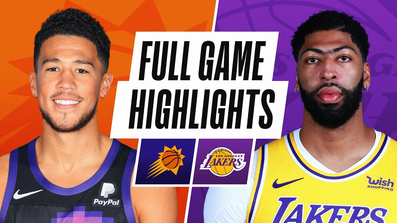 Lakers vs. Suns, Three Things to Know: May 9, 2021
