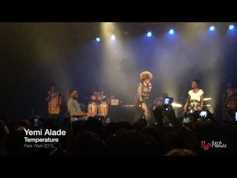 Yemi Alade - Temperature (Live in Paris 2017)