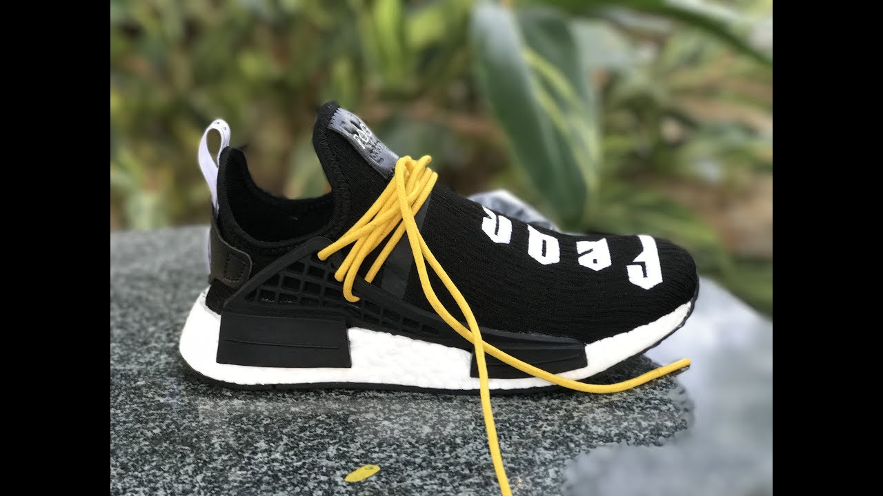 44f334ccc Fear of God x Adidas NMD Pharrell Williams Human Race Black for 2017