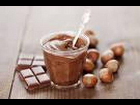 ef60eb38f طريقة عمل شوكولاتة النوتيلا بالبندق في المنزل كالمحترفات - YouTube
