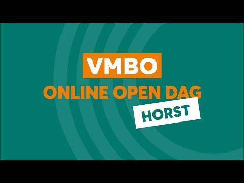 Horst VMBO Online Open Dag