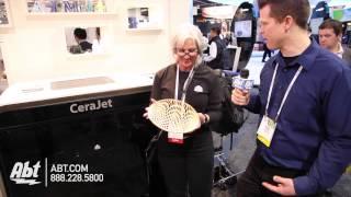 3D Systems Cera Jet - CES 2014